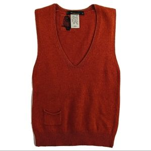 Anthropologie Cartonnier Sweater Vest Women's Sz S